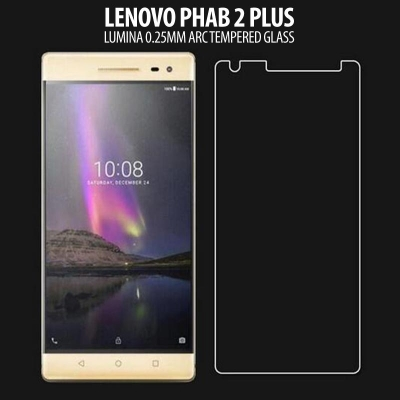 * Lenovo Phab 2 Plus - Lumina 0.3 mm Arc Tempered Glass }