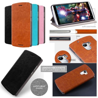 ^ Lenovo Vibe K4 Note / Vibe X3 Lite - Mofi Core Series Leather Case