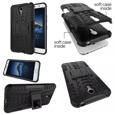 ^ Lenovo ZUK Z1 - Heavy Duty Rugged Armor Stand Case