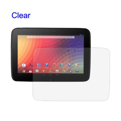 Samsung Google Nexus 10 - Clear Screen Guard