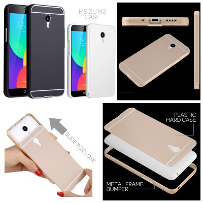 ^ Meizu M2 - Metal Slide Hard Case