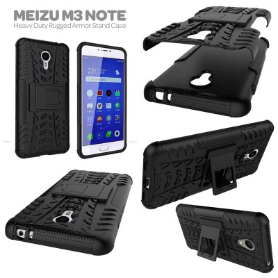 ^ Meizu M3 Note - Heavy Duty Rugged Armor Stand Case