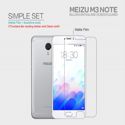 ^ Meizu M3 Note - Nillkin Antiglare Screen Guard }