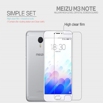 ^ Meizu M3 Note - Nillkin Clear Screen Guard }