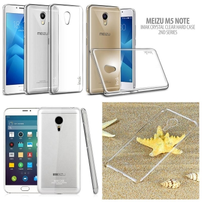 ^ Meizu M5 Note - Imak Crystal Clear Hard Case 2nd Series