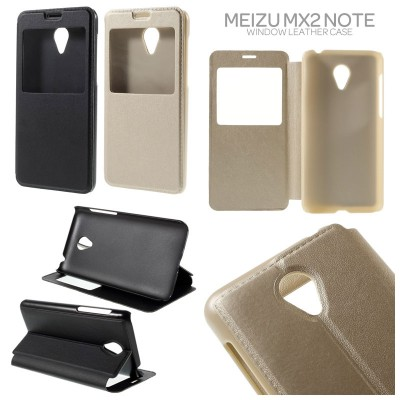 * Meizu M2 - Window Leather Case