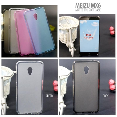 ^ Meizu MX6 - Matte TPU Soft Case }