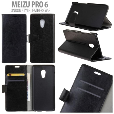 * Meizu Pro 6 - London Style Leather Case