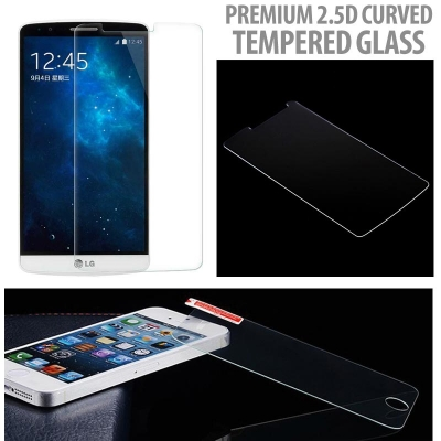 ^ Meizu Pro 7 - Premium 2.5D Curved Tempered Glass