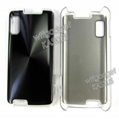 Motorola Atrix 4G - Metal Plated Hard Case