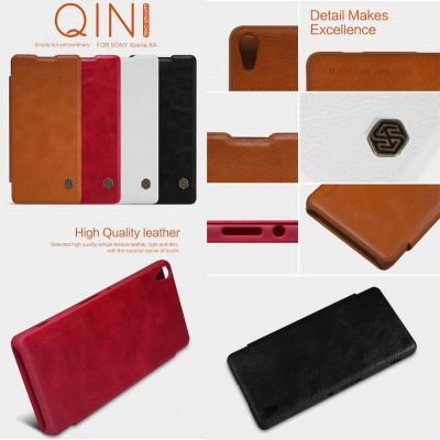 ^ Sony Xperia XA Dual / XA - Nillkin Qin Leather Case