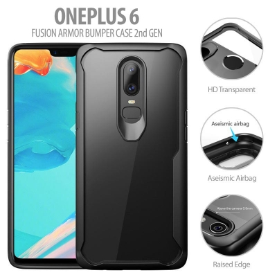 ^ Oneplus 6 - Fusion Armor Bumper Case 2nd Gen