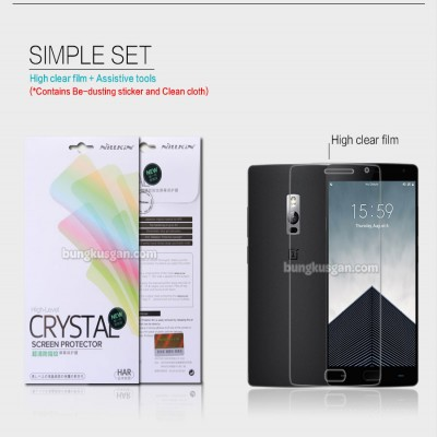 ^ OnePlus Two - Nillkin Clear Screen Guard