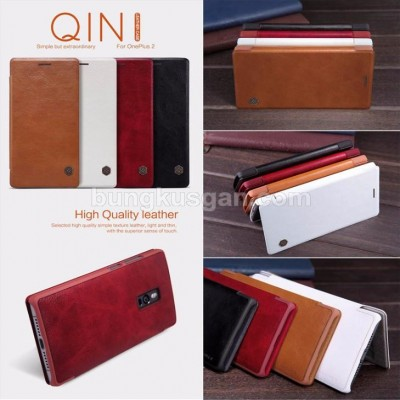 ^ OnePlus Two - Nillkin Qin Leather Case