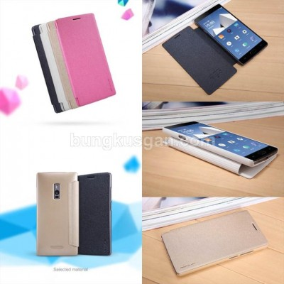 ^ OnePlus Two - Nillkin Sparkle Leather Case