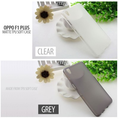 ^ Oppo F1 Plus / R9 - Matte TPU Soft Case