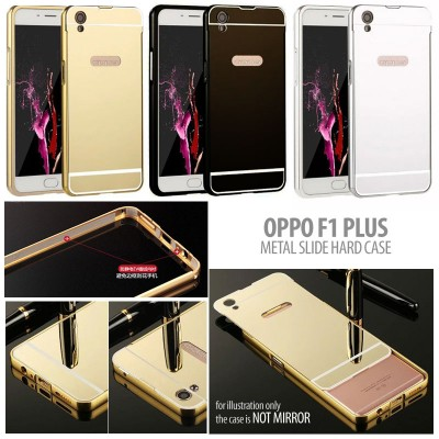 ^ Oppo F1 Plus / R9 - Metal Slide Hard Case