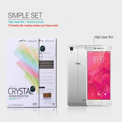 ^ Oppo R7 Lite / R7 - Nillkin Clear Screen Guard