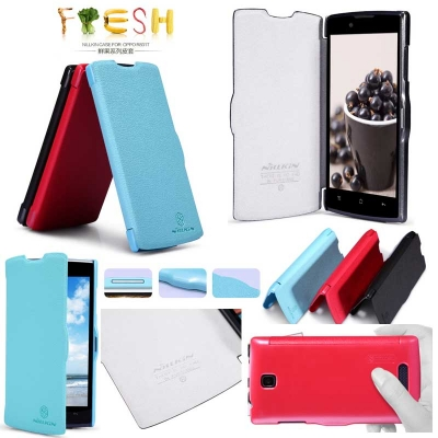 Oppo Neo R831 - Nillkin Fresh Series Leather Case