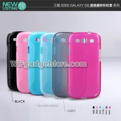 $ Samsung Galaxy S3 I9300 - Nillkin Super Cool Soft Case