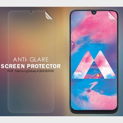 ^ Samsung Galaxy A30 / A50 / M30 - Nillkin Antiglare Screen Guard