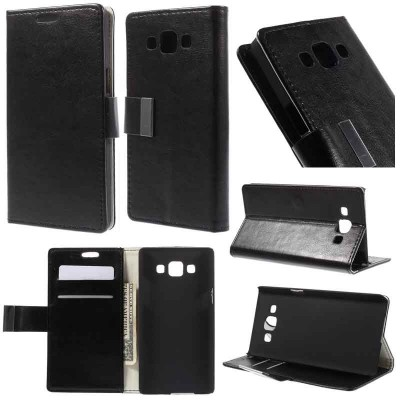 * Samsung Galaxy A5 - London Style Leather Case