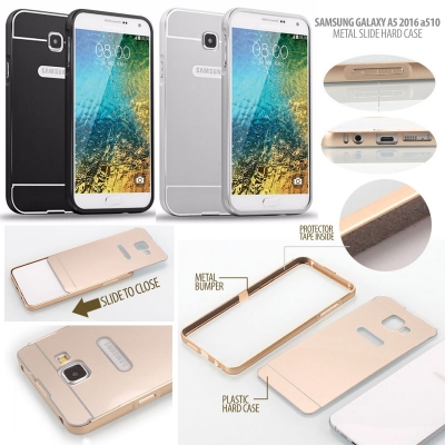 ^ Samsung A5 2016 A510 - Metal Slide Hard Case