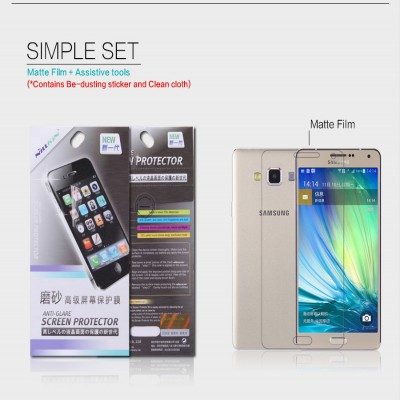 ^ Samsung Galaxy A7 - Nillkin Antiglare Screen Guard