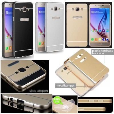 ^ Samsung Galaxy A8 - Metal Slide Hard Case