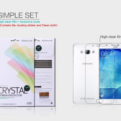 ^ Samsung Galaxy A8 - Nillkin Clear Screen Guard
