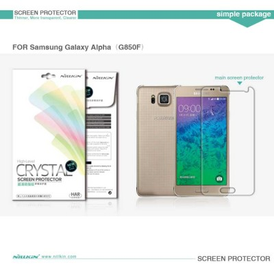 ^ Samsung Galaxy Alpha G850 - Nillkin Clear Screen Guard