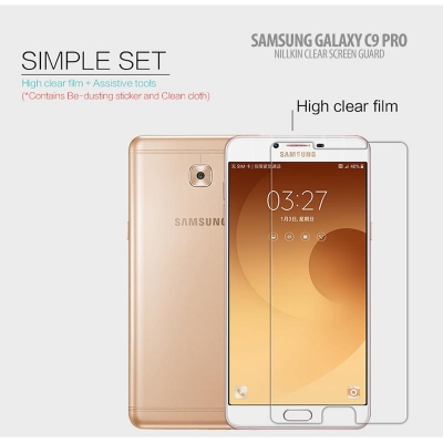 ^ Samsung Galaxy C9 Pro - Nillkin Clear Screen Guard }