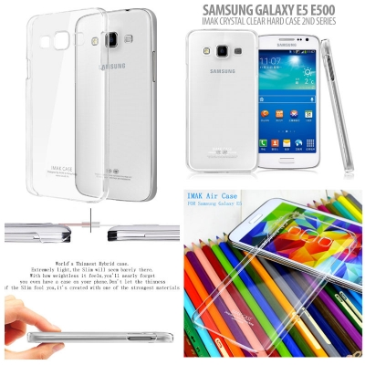 ^ Samsung Galaxy E5 - Imak Crystal Clear Hard Case 2nd Series