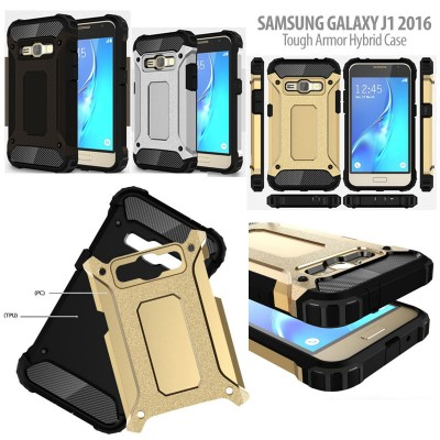 ^ Samsung Galaxy J1 2016 J120 - Tough Armor Hybrid Case