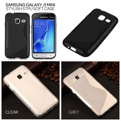 ^ Samsung Galaxy J1 Mini - Stylish STPU Soft Case