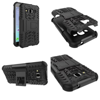 ^ Samsung Galaxy J2 - Heavy Duty Rugged Armor Stand Case