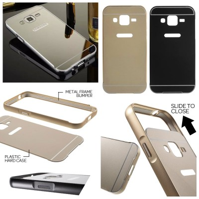 ^ Samsung Galaxy J2 - Metal Slide Hard Case