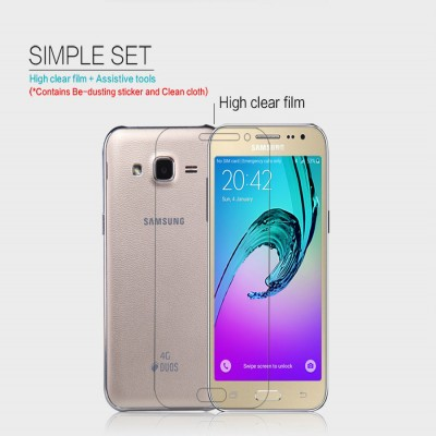 ^ Samsung Galaxy J2 - Nillkin Clear Screen Guard