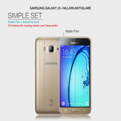 ^ Samsung Galaxy J3 2016 - Nillkin Antiglare Screen Guard