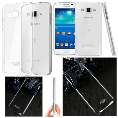 ^ Samsung Galaxy J5 J500 - Imak Crystal Clear Hard Case 2nd Series