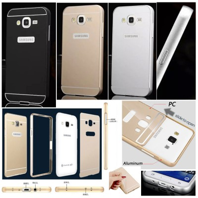 ^ Samsung Galaxy J5 J500 - Metal Slide Hard Case