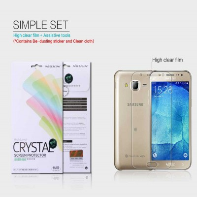 ^ Samsung Galaxy J5 J500 - Nillkin Clear Screen Guard