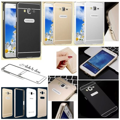 ^ Samsung Galaxy J7 - Metal Slide Hard Case