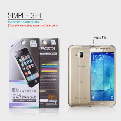 ^ Samsung Galaxy J7 - Nillkin Antiglare Screen Guard