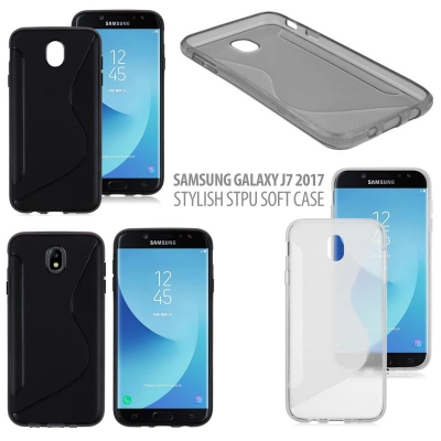 ^ Samsung Galaxy J7 2017 - Stylish STPU Soft Case