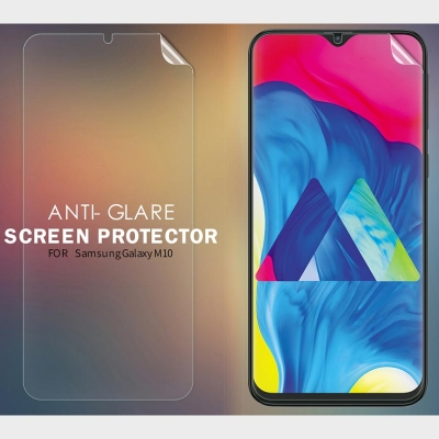 ^ Samsung Galaxy M10 - Nillkin Antiglare Screen Guard