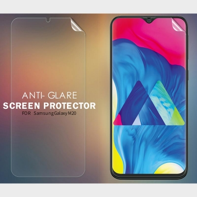^ Samsung Galaxy M20 - Nillkin Antiglare Screen Guard