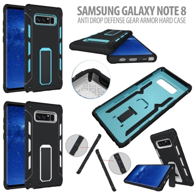 * Samsung Galaxy Note 8 - Anti Drop Defense Gear Armor Hard Case