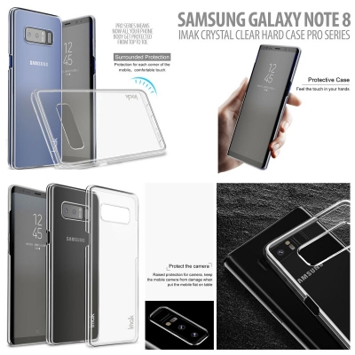 ^ Samsung Galaxy Note 8 - Imak Crystal Clear Hard Case Pro Series }