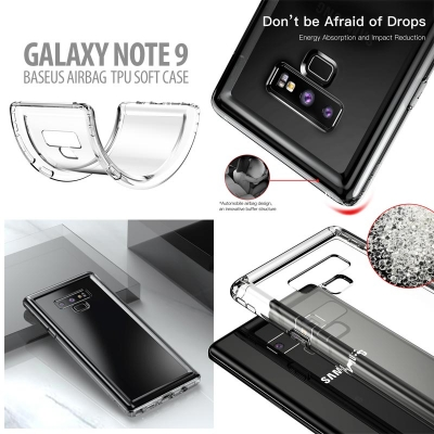* Samsung Galaxy Note 9 - Original Baseus Airbag TPU Soft Case